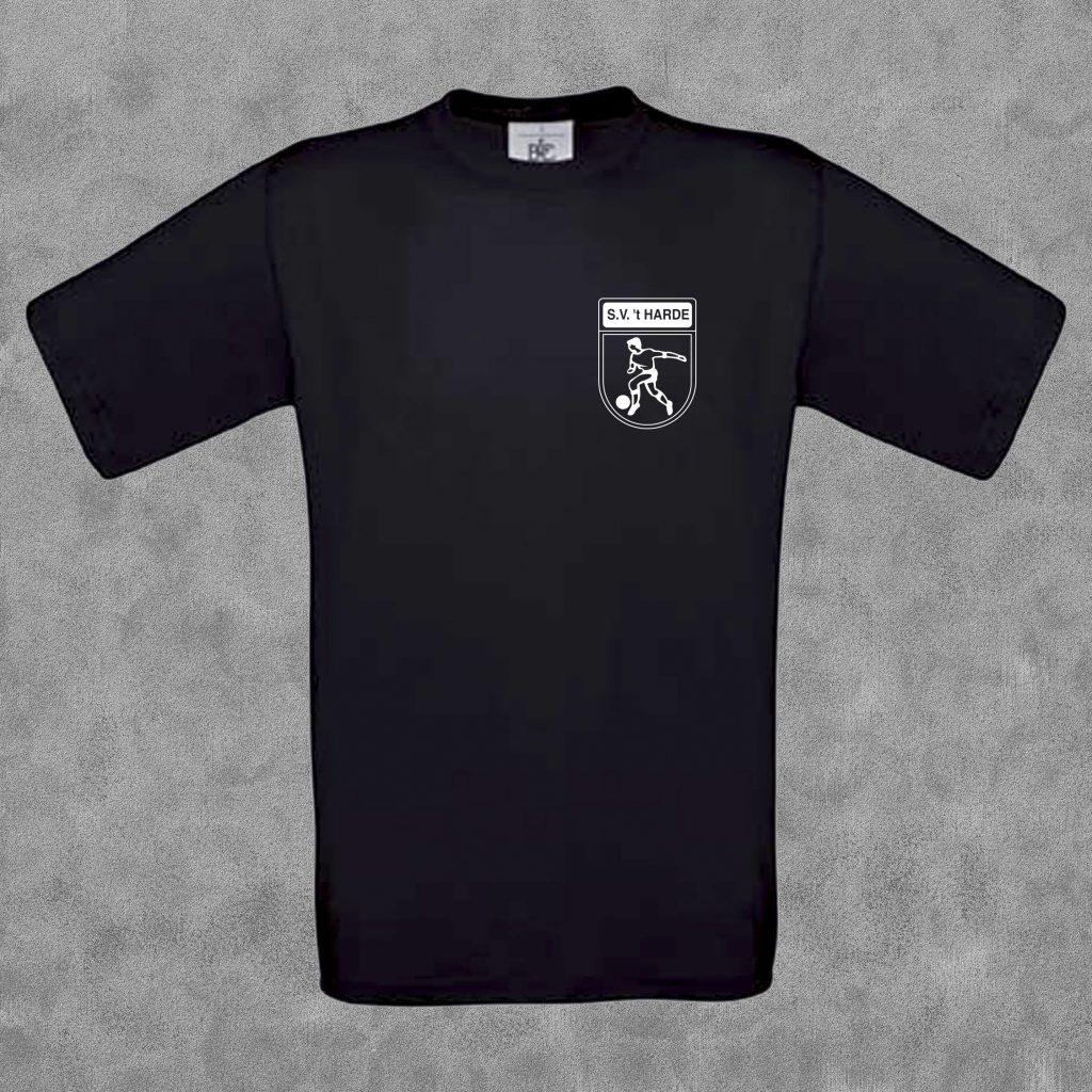 T-shirt kids zwart met wit logo